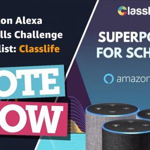 EMEA Alexa EdTech Skills Challenge: Vote now!